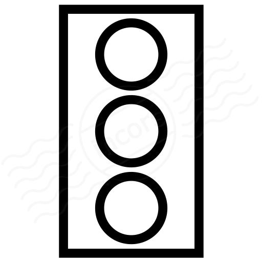 Trafficlight Off Icon