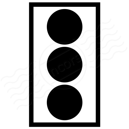 Trafficlight On Icon