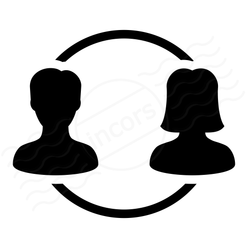Users Relation 2 Icon