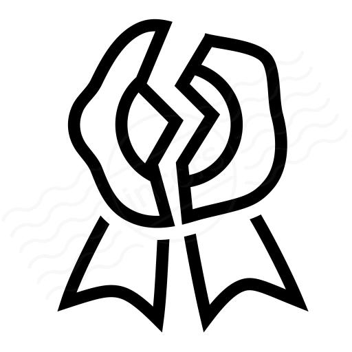Wax Seal Broken Icon