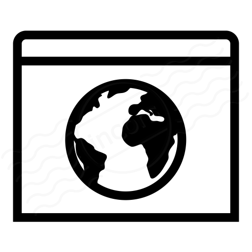 Window Earth Icon