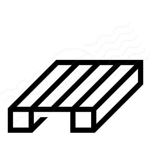 Wooden Pallet Icon