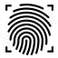 Fingerprint Scan Icon 64x64