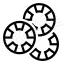 Gambling Chips Icon 64x64