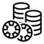 Gambling Chips 2 Icon 64x64