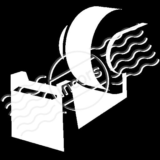Adhesive Tape Icon