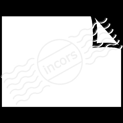 Document Plain Landscape Icon