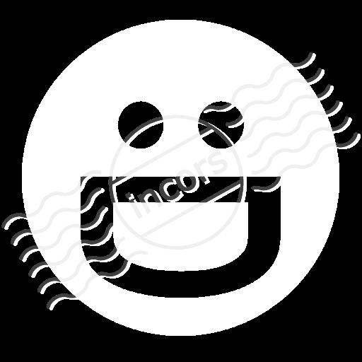 Emoticon Grin Icon