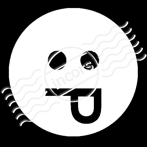Emoticon Tongue Icon