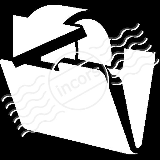Folder Out Icon