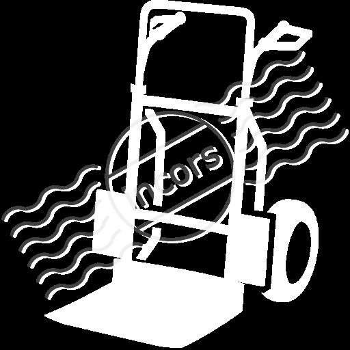 Hand Truck Icon
