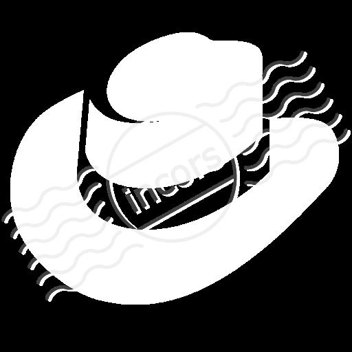 Hat White Icon