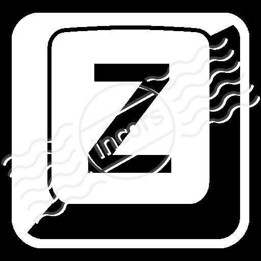 Keyboard Key Z Icon