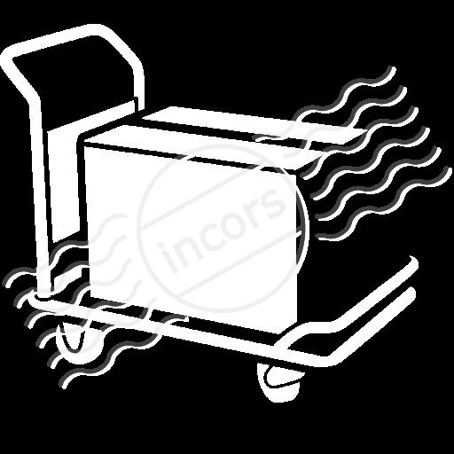 Platform Truck Icon
