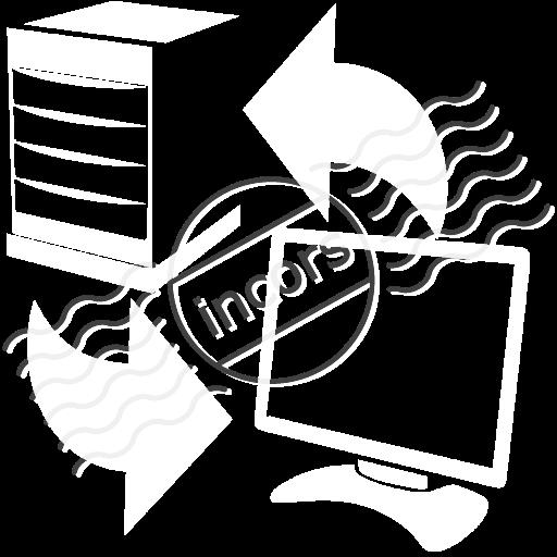 Server Client Exchange Icon