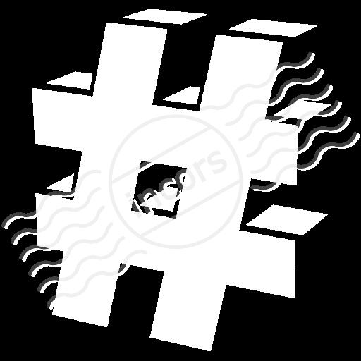 Symbol Hash Icon