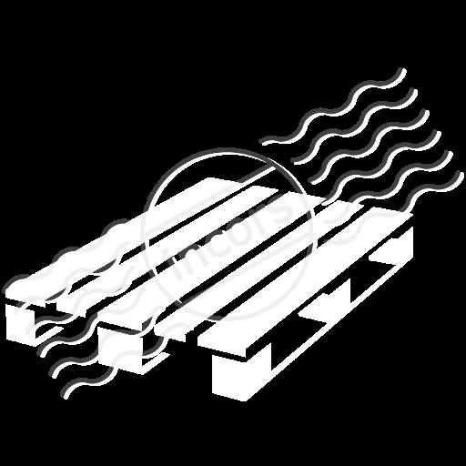 Wooden Pallet Empty Icon