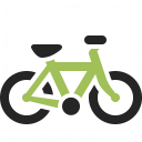 Bicycle Icon 128x128