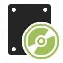 Cd Drive Icon 128x128