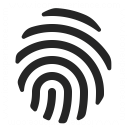 Fingerprint Icon 128x128