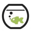 Fish Bowl Icon 128x128