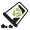 Garbage Make Empty Icon 128x128