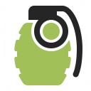 Grenade Icon 128x128
