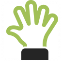 Hand Spread Icon 128x128