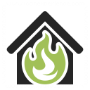 Home Fire Icon 128x128