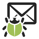 Mail Bug Icon 128x128