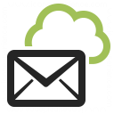 Mail Cloud Icon 128x128