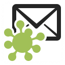 Mail Virus Icon 128x128