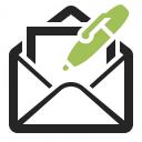Mail Write Icon 128x128