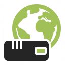 Modem Earth Icon 128x128
