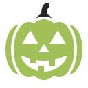 Pumpkin Halloween Icon 128x128