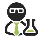 Scientist Icon 128x128