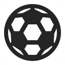 Soccer Ball Icon 128x128