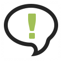Speech Balloon Answer Icon 128x128