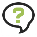 Speech Balloon Question Icon 128x128