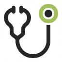 Stethoscope Icon 128x128