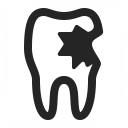 Tooth Carious Icon 128x128