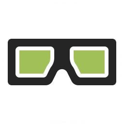 3d Glasses Icon 256x256