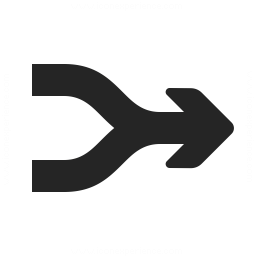 Arrow Merge Icon 256x256