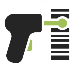 Barcode Scanner Icon 256x256