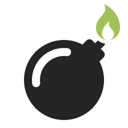 Bomb Icon Iconexperience Professional Icons O Collection