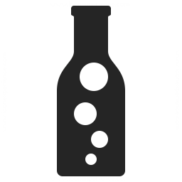 Bottle Bubbles Icon 256x256