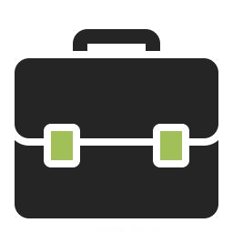 Briefcase Icon 256x256