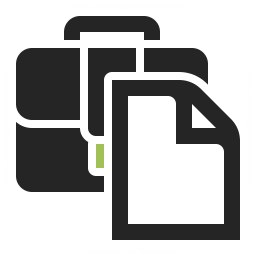Briefcase 2 Document Icon Iconexperience Professional Icons O Collection