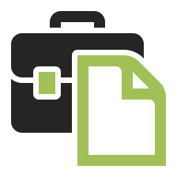Briefcase Document Icon 256x256