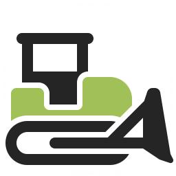 Bulldozer Icon 256x256